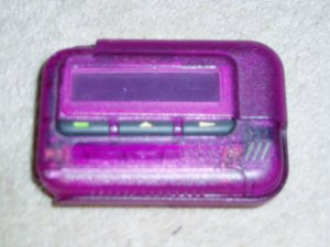 $10 OBO Purple Pager
